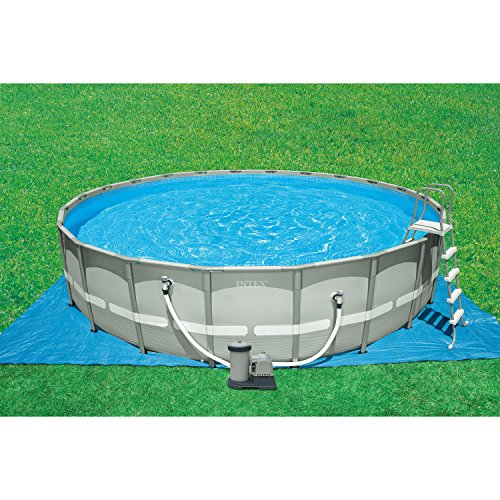 Intex 26 Feet x 52 Inches Above-Ground Ultra Frame Pool Set with ...